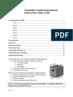 Dehumidifier Technical Manual