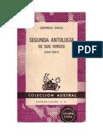 Gerardo Diego - Segunda Antologia De Sus Versos (1941 - 1967).doc