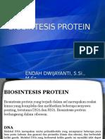 Biokimia Biosintesis Protein
