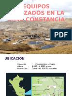 Mina Constancia - Cuzco