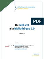 Du web 2.0 à la bibliothèque 2.0