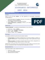 Bases Aniversario Enfermería UdeC 2016