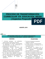 Presentacion Proceso de Transformación agosto2016.pptx