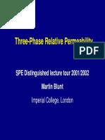 Permeabilidad Relativa de Tres Fases- Martin Blunt