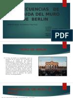 Concecuencias de La Caida Del Muro de Berlin