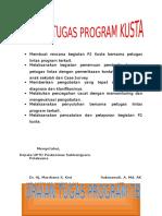 Uraian Tugas Program Kusta