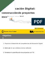 Educación Digital - Construcción de Proyectos Escolares Con TIC