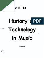 MU310 - History of Music