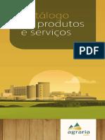 Catálago Produtos Agrária Malte 2016
