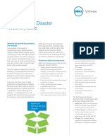 Dell Backup Disaster Recovery Suite Datasheet 29969