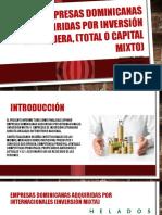 Empresas dominicanas adquiridas por inversión extranjera, (.pptx