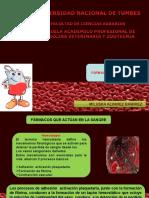 Farmacos Que Acuan en La Sangre