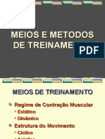 Meios e Metodo de Treinamento