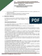 PRÁCTICA N° 04 PARÁMETROS IMPORTANTES EN EL ANÁLISIS DEL SUELO