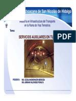 Servicios Auxiliares en Tuneles