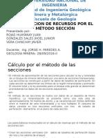 METODO DE SECCIONES