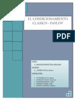 Condicionamiento Clasico Pavlov