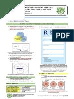 18. Evidence Based Medicine Critical Appraisal