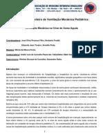 I Consenso Brasileiro de Ventilacao Mecanica Pediatrica Ventilacao Mecanica Na Crise de Asma Aguda