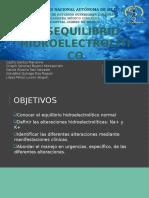 Desequilibrio-hidroelectrolítico
