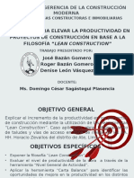 Grupo 3 - Lean Construction