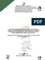 Proyecto Simoncito Comunitario - Licenciatura 04-10-16