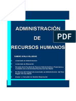 Administracion de Recursos Humanos Libro Muy Bueno