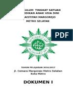 Kurikulum 2013 TK Aisyiyah