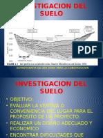 Investigacion Del Suelo Cimentaciones
