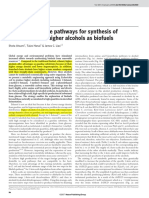 [Atsumi, S.; Hanai, T.; Liao, James C., 2008] 'Non-fermentative Pathways for Synthesis of Brainched-chain Higher Alcohols as Biofuels'. Nature. No. 451, Pp. 86-90