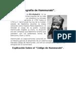 Biografía de Hammurabi