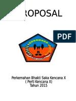 Proposal Perkemahan Bhakti Saka Kencana x Final