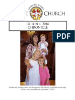Christ Church Eureka October Chronicle 2016