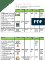 Planificare Activităţi Şcolare Şi Extraşcolare Final 2016-7 Cls 2
