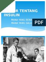 Rumor Tentang Insulin