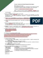 Revisão metologia cientifica inicio do curso