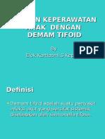 Askep Demam Thypoid