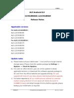 ALE M Version Release Notes (Europe Channel_ALE-L21C432B565&ALE-L21C432B564)
