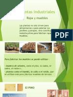 Plantas Industriales-ropa y Muebles