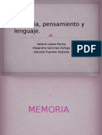 Memoria, Pensamiento y Lenguaje.