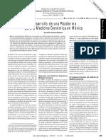 Desarrollo de una Plataforma para la Medicina Genómica en México