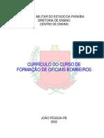 Curriculo Do Cfo Bm - Em Construcao (1)