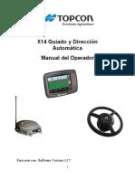 X14 Guiado y Dirección Automática Español