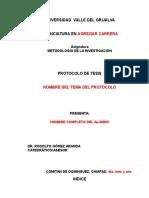 Guia Para Elaborar El Protocolo Uvg Comitán
