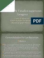 Generalidades de Las Bacterias Gram Positivas Estreptococos y Estafilococos