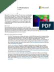 Microsoft Cloud Infrastructure Datacenter and Network Fact Sheet(1)