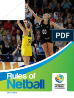 INF Netball Rules Book 2016 -As of Jan 2016