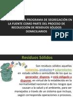 Clases I Residuos 2015 I