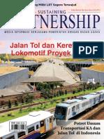 Majalah KPBU Edisi Jalan Tol Dan Kereta API