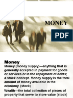 Functions of Money L-4